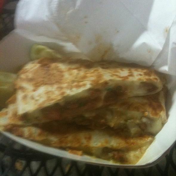 Adobada Quseadilla @ Chando's Taco