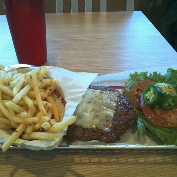 Spicy Baja Burger @ Smashburger