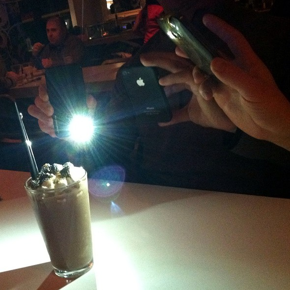 Nutella and Burnt Marshmallow Milkshake @ Flip Burger Boutique