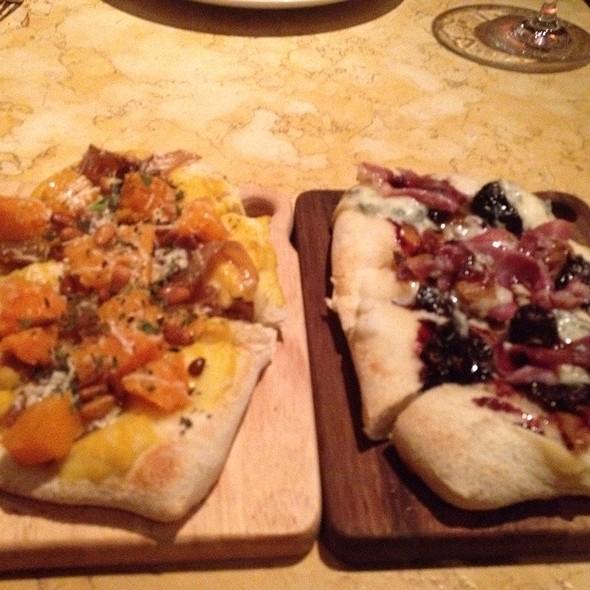 Pumpkin Flatbread And Prosciutto And Fig Flatbread @ Birch & Barley