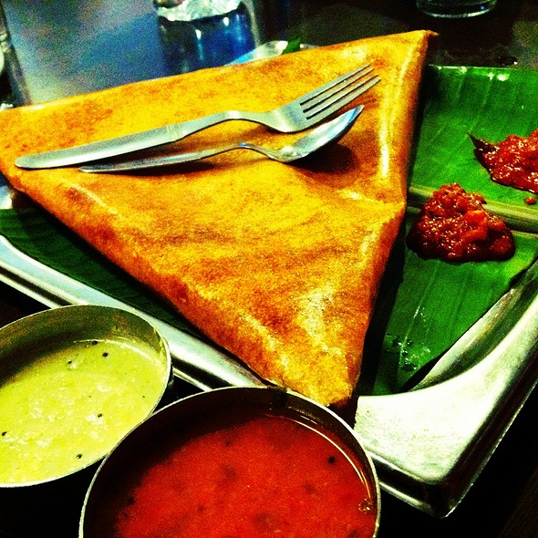 Masala Dosa @ Minerva Coffee Shop