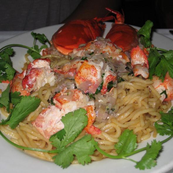 Whole Maine Lobster @ Crustacean Restaurant