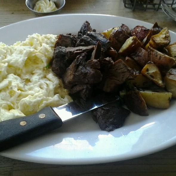 Steak & Eggs @ Green Eggs Cafe
