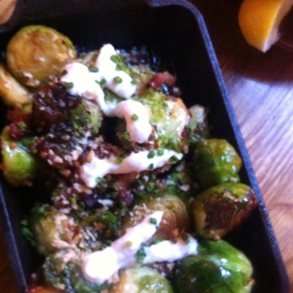 Roasted brussels sprouts @ The Dutch