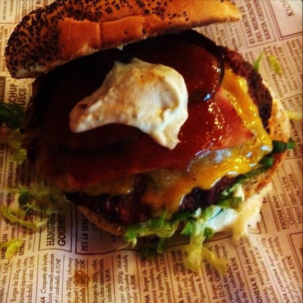 Australian Burger @ Kiosko Burger