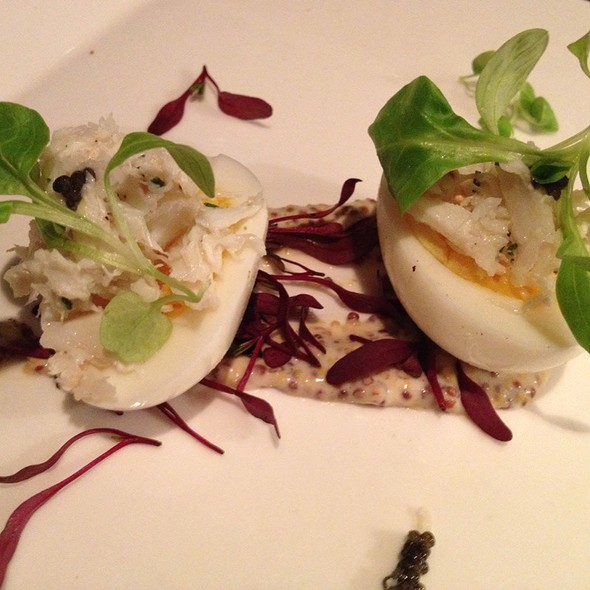 Decadent Deviled Eggs @ B&O Brasserie