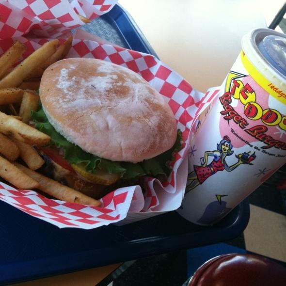 Teri Burger @ Teddy's Bigger Burgers