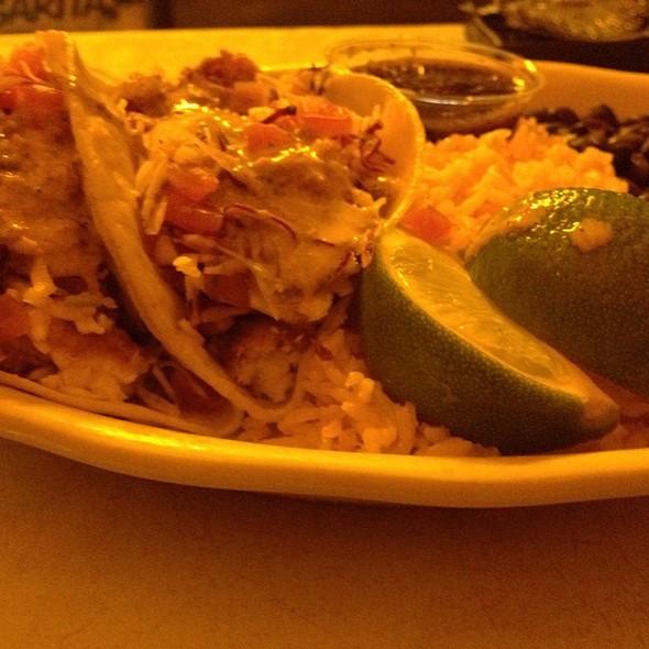 Baja Style Fish Tacos @ Cafe Habana