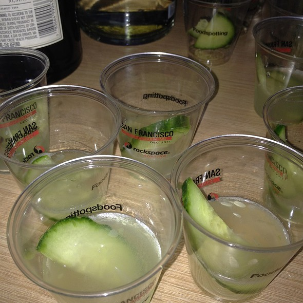 Ginnovation @ Foodspotting Startup Cocktail Mix-off