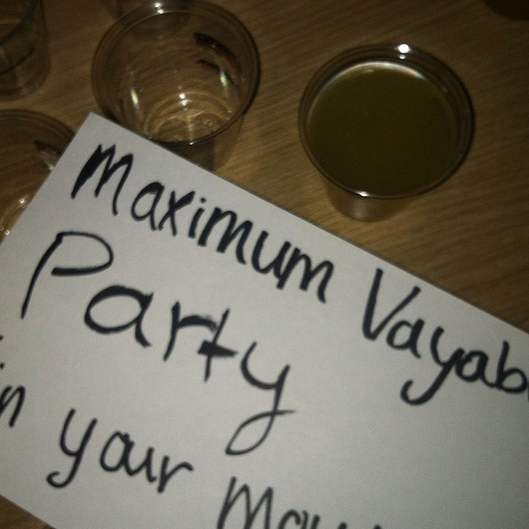Maximum Vayable Party (In Your Mouth) @ Foodspotting Startup Cocktail Mix-off