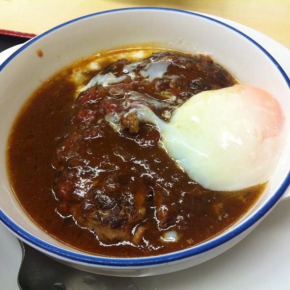 デミたまハンバーグ定食 @ 松屋 保土ヶ谷店