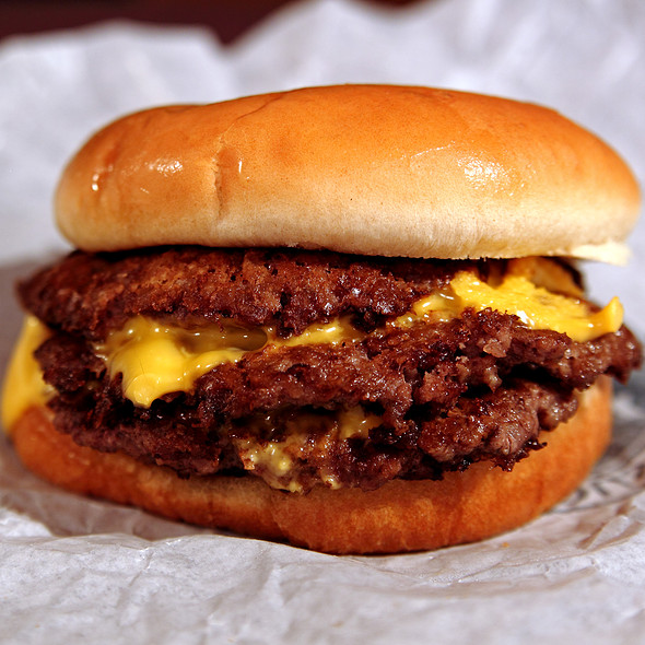 Triple Steakburger with Cheese