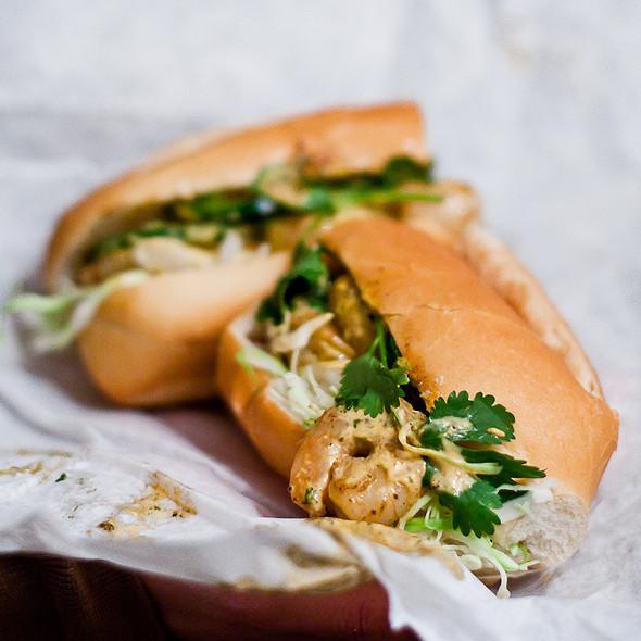 Grilled Shrimp Banh Mi @ Bigg Shrimp'n Food Truck