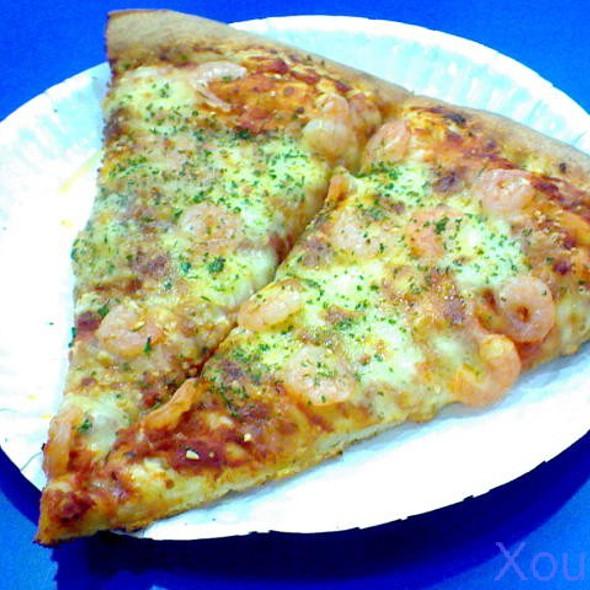 Garlic Shrimp Pizza @ S&R New York Style Pizza