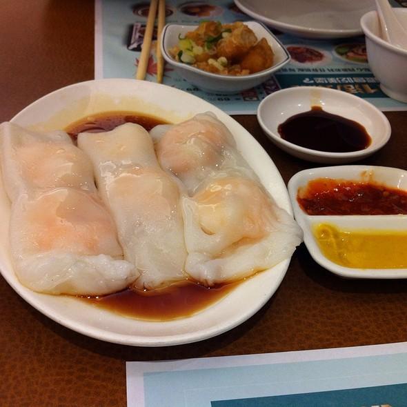 蝦腸粉 - Shrimp Rice-flour Roll Stuffings @ 京星港式飲茶