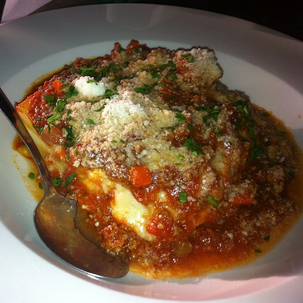 Lasagna with Meat Sauce @ Bella Napoli