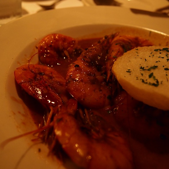 Barbequed Shrimp  @ Mr B's Bistro