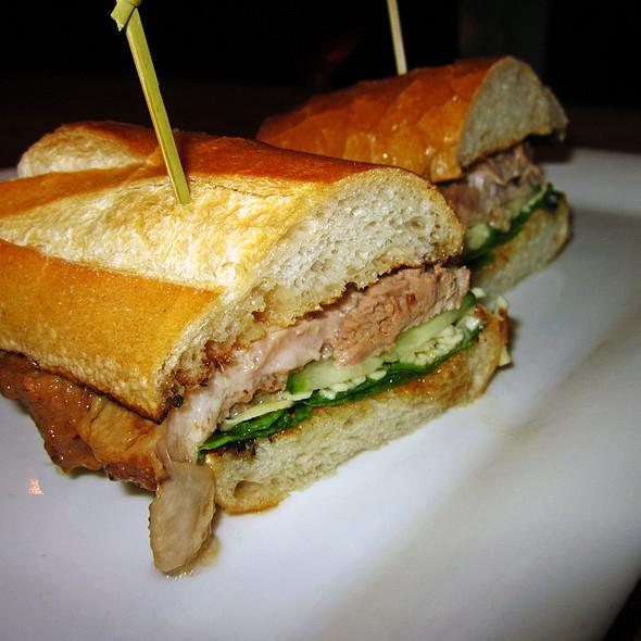 Braised Pork Belly Sandwich @ Spitzer's Corner