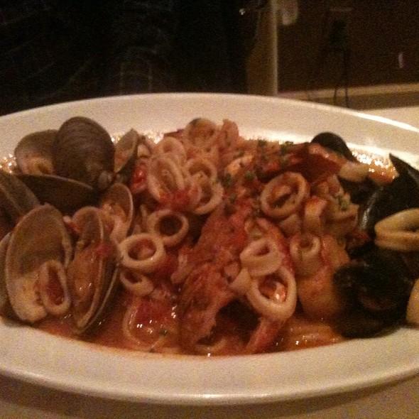 Lobster Tail & Seafood Linguine @ Lu Nello Restaurant