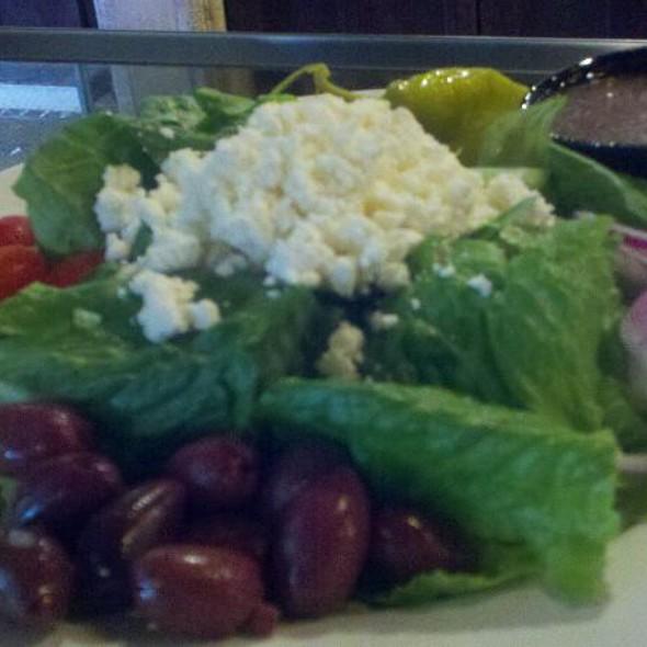 Greek Salad @ Piesanos