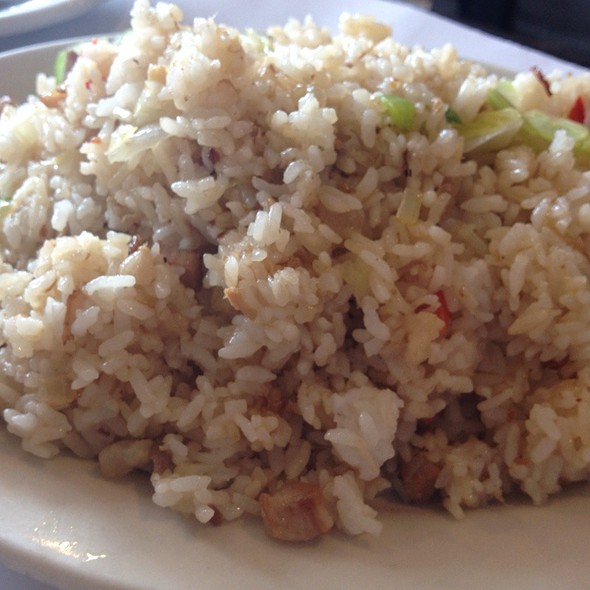 Adobo Fried Rice  @ Tito Rad's