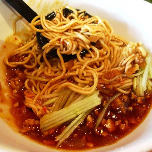 """La Mian"" with minced pork & mushroom in spicy sauce @ Crystal Jade - Erawan Bangkok"