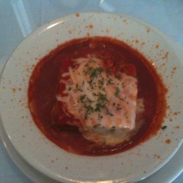 Italian Lasagna - Carmen's Cafe - Brookside, Kansas City, MO