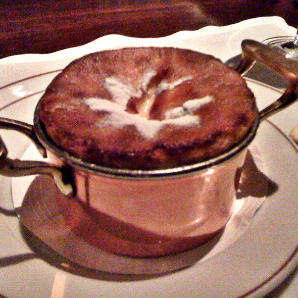 grand marnier souffle @ Restaurante Fasano