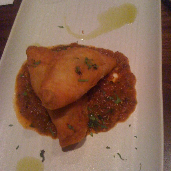 Huitlacoche Empanada @ Alma Cocina