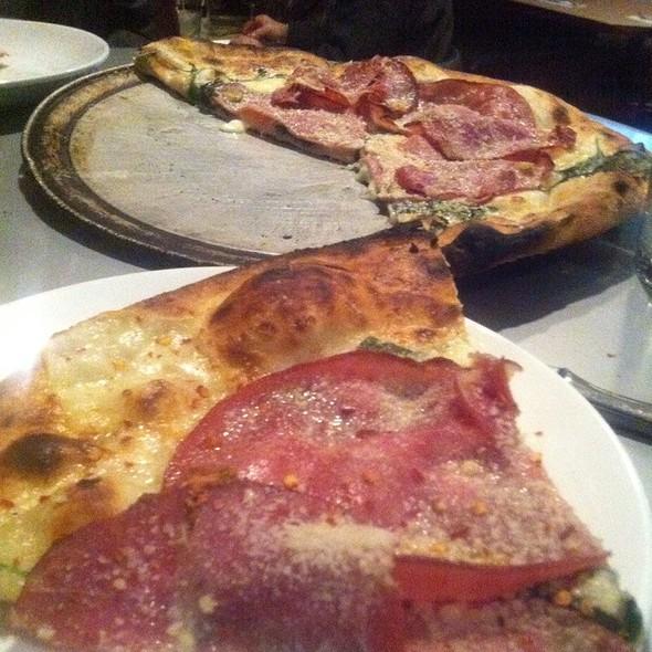 Mortadella Pizza