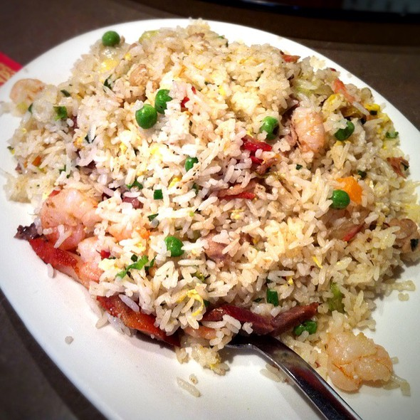 Combination Fried Rice @ First Chinese B-B-Q