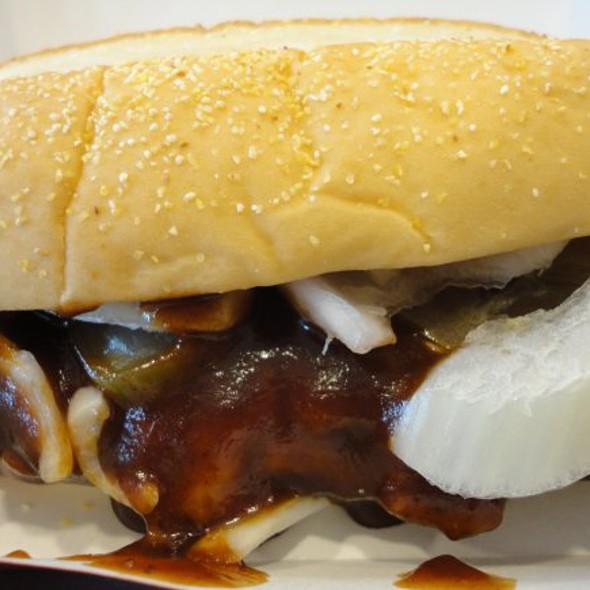 McRib Sandwich @ McDonalds