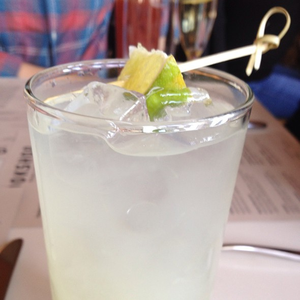 Limeade @ Cookshop Restaurant & Bar