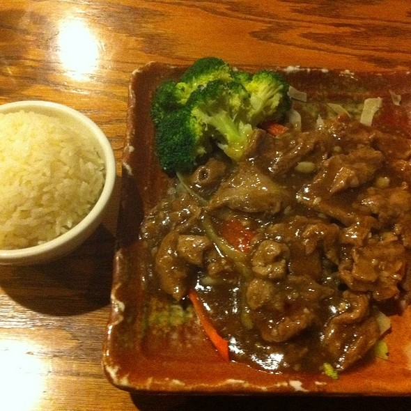 Garlic & Black Pepper Beef