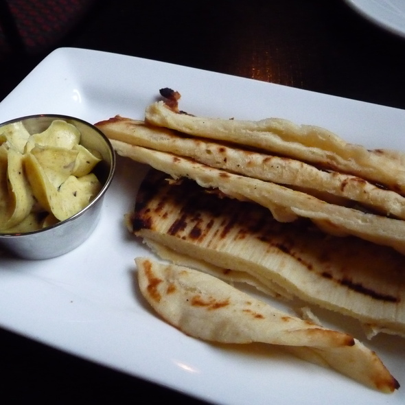 Naan Bread With Curry Butter - Claddagh Oyster House, Charlottetown, PE