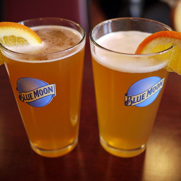 Blue Moon Beer @ Billy's Boston Chowder House