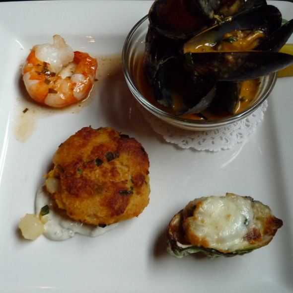 Seafood Sampler - Claddagh Oyster House, Charlottetown, PE