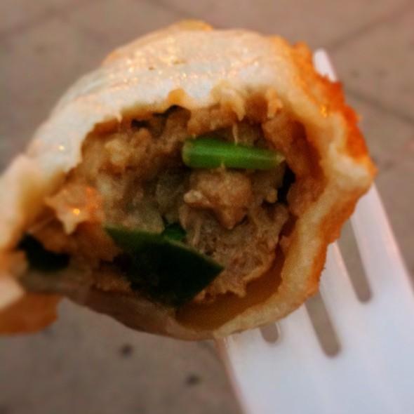 Chives & Pork Fried Dumplings @ Prosperity Dumpling