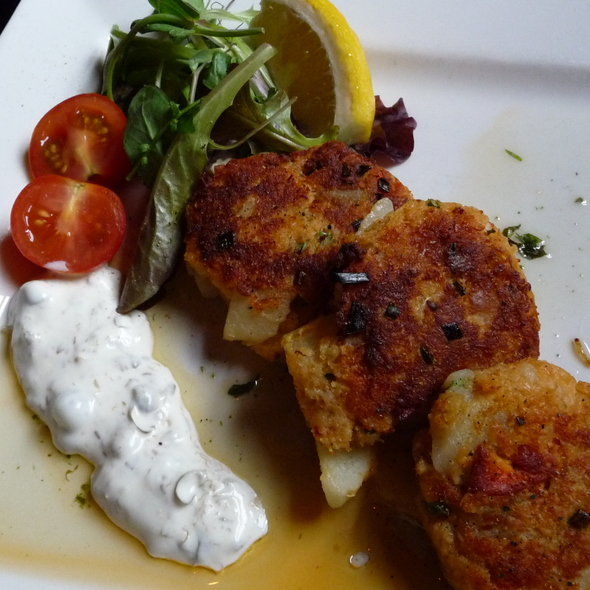 Crab Cakes - Claddagh Oyster House, Charlottetown, PE