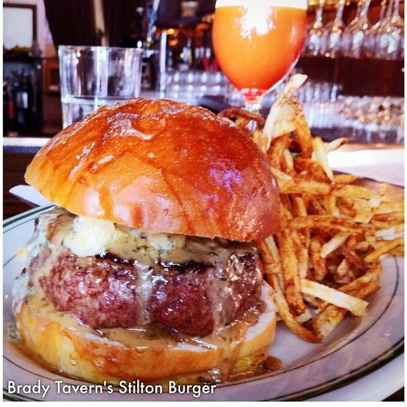 Brady Tavern Burger @ Brady Tavern