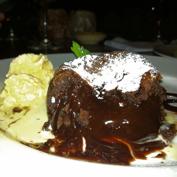 Chocolate Souffle @ Yasu Sushi Bistro