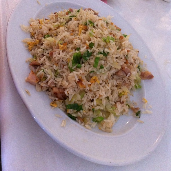 Fried Rice with Diced Chicken and Salted Fish @ Fitzgerald Seafood Restaurant