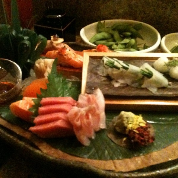 Selection Of Sashimi @ Zuma