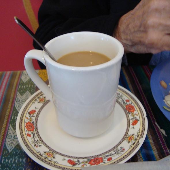 Cafe con Leche (Coffee) @ La Chocita Grill