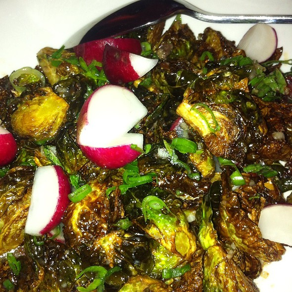 Brussel sprouts @ Ma Peche