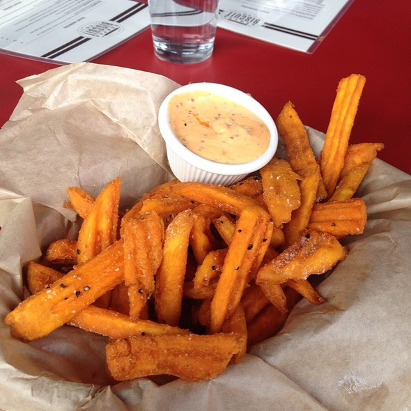 Sweet potato fries @ Denver Biscuit Co.