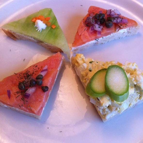 Mini Sandwiches - City Cafe, Dallas, TX