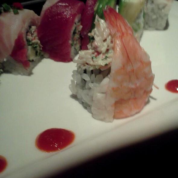 Rainbow Sushi Roll @ Houston's Restaurant