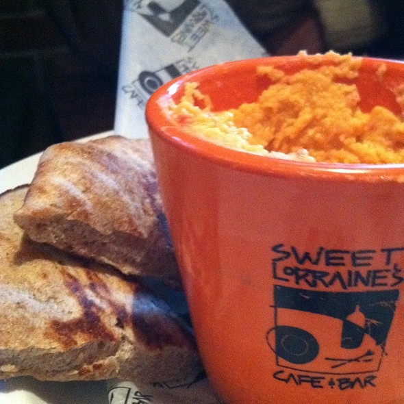 Hummus & Pita Bread Appetizer @ Sweet Lorraine's Cafe & Bar