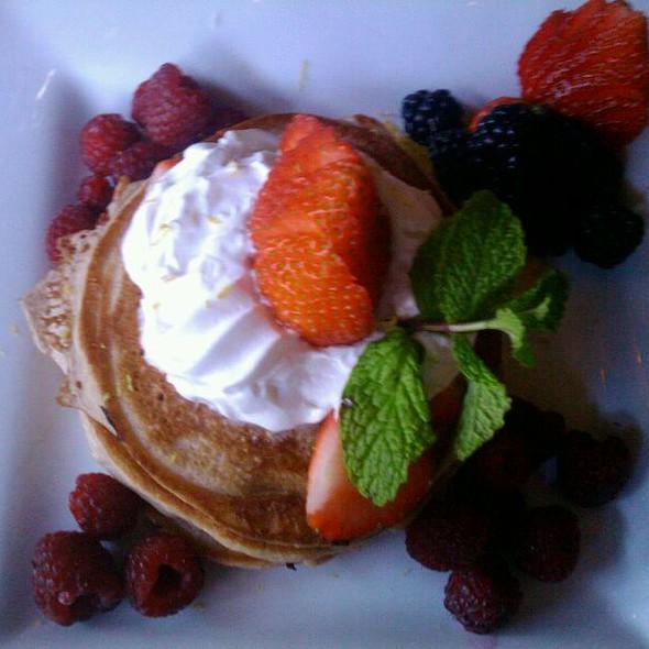 Strawberry Shortcake Pancakes - Paragon Restaurant & Bar, Seattle, WA